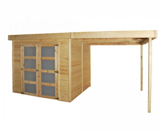 Gardenas   Blokhut Box L geimpregneerd   240x240 cm