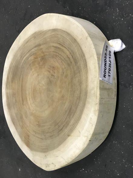 Westwood | Hardhouten tafelblad rond | 150 cm