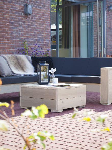 Westwood | Tuinset Lounge | Kubustafel
