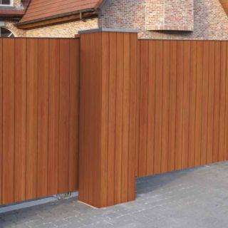 Gardival | Sierpoort Ferro | Gesloten beplanking | 550x190 cm