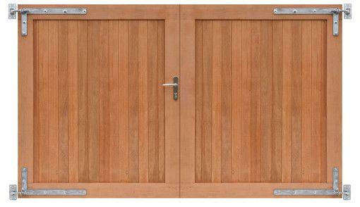 Woodvision | Dubbele toegangspoort