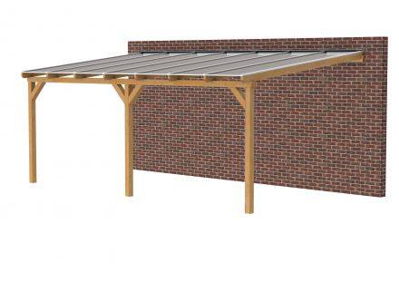 Douglasvision | Veranda 700x400 | Opaal dakplaat