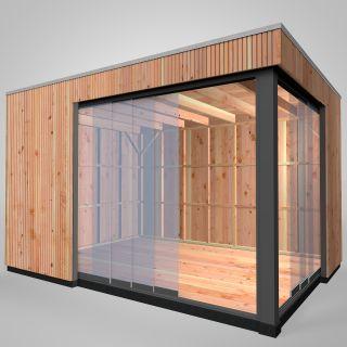 Westwood   Buitenverblijf   Tiny House   Design   400 x 300 cm   Verticaal  