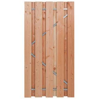 Carpgarant | Douglas poort | Universeel | op stalen frame fijnbezaagd | 100 x 195cm