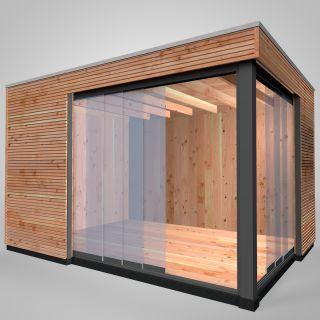 Westwood   Buitenverblijf   Tiny House   Design   400 x 300 cm   Horizontaal