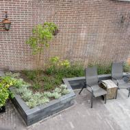Renovatie/ nieuwe aanleg lange achtertuin