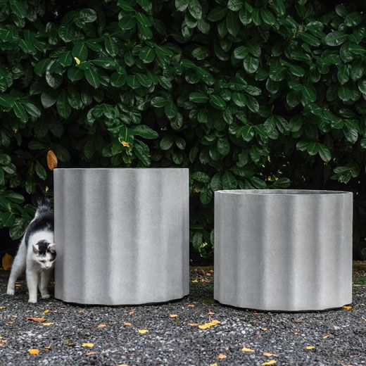 Bloembak Kolonna 60 cm doorsnede en 50 cm hoog (rond)