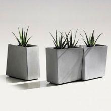 Bloembak Twista 60x60x60 cm (kubus)