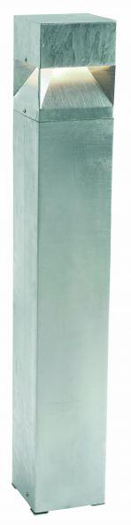 buitenverlichting armatuur Arvika staand 89 cm gegalv. Led 11W. 3000k. (3128)