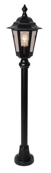 buitenverlichting armatuur Berlusi II. staand 100 cm zwart (FL128-10)