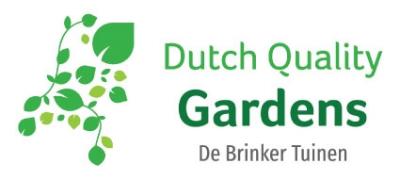 Dutch Quality Gardens, De Brinker Tuinen