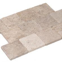 Basalt Travertin Economix tegels