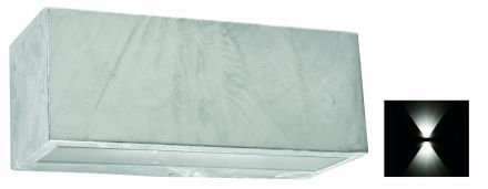 buitenverlichting armatuur Asker Vista wand up/down light, e27. gegalvaniseerd (501702)