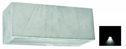buitenverlichting armatuur Asker Vista wand down light, e27. gegalvaniseerd (501707)