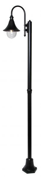 buitenverlichting armatuur Calice II. staand 240cm zwart (FL701-10)