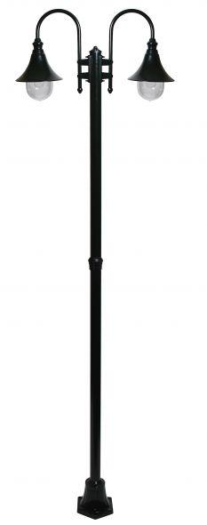 buitenverlichting armatuur Calice II. 2-licht 240cm groen (FL702-40)