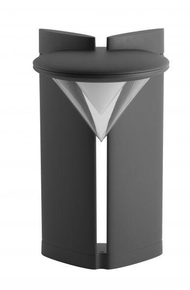 buitenverlichting armatuur City highlight Ibis staand 50cm grafiet Led 20W (451050-25)