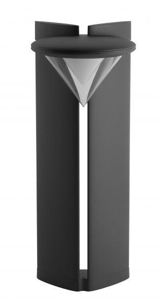 buitenverlichting armatuur City highlight Ibis staand 75cm grafiet Led 20W (451075-25)