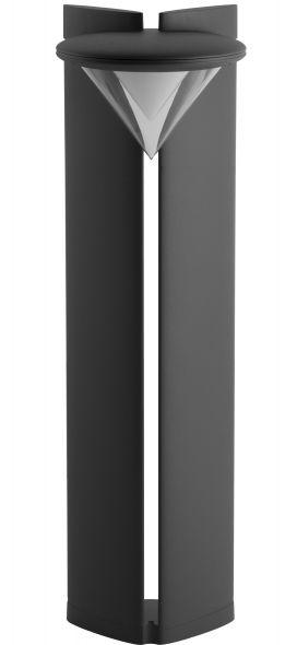 buitenverlichting armatuur City highlight Ibis staand 100cm grafiet Led 20W (451100-25)