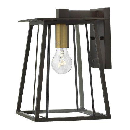 buitenverlichting armatuur Charlson Wandlamp, hang. 4-kant dubbel, medium (4077)