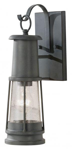buitenverlichting armatuur Harbor wandlamp, antiekgrijs (2090)