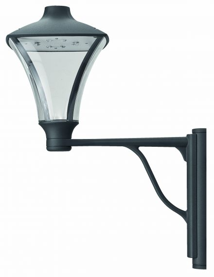 buitenverlichting armatuur City highlight Wand. Staand. 24W led. 3000K Grafiet (10-20280)