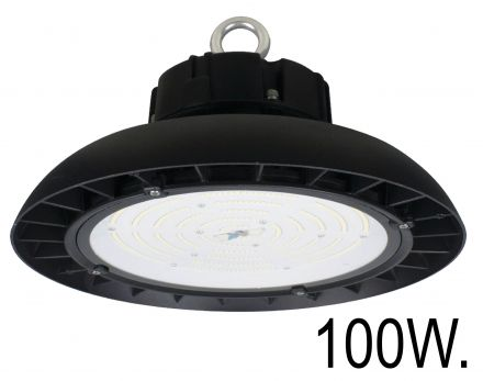 buitenverlichting armatuur City highlight. Highbay led disk. 100W. 1-10V Dimb (10-3610050)