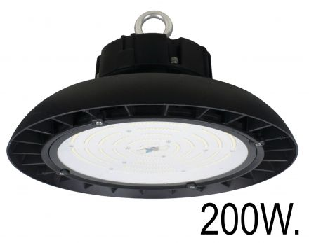 buitenverlichting armatuur City highlight. Highbay led disk. 200W. 1-10V Dimb (10-3620050)