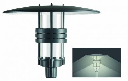 buitenverlichting armatuur City highlight Ring. Led: Up 30W-Down 20W. 5000Lm 3000K (10-508157-25)