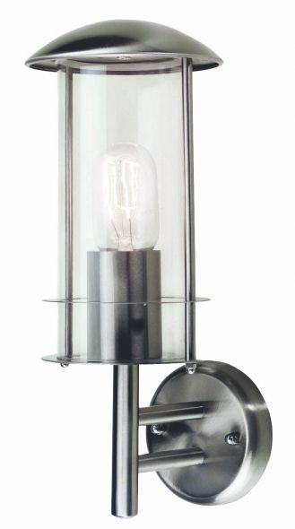 buitenverlichting armatuur Finmotion, Wandlamp, rvs304, staand rond (21082)