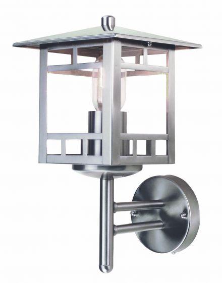 buitenverlichting armatuur Finmotion, Wandlamp, rvs304, staand vierkant (21083)
