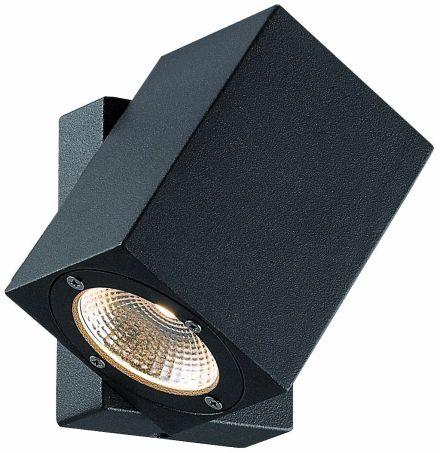 buitenverlichting armatuur Finmotion, Wandlamp, Led 7w. Vierkant, richtbaar (21086)