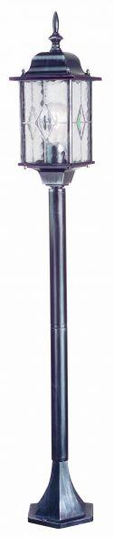 Wexford staand 124cm zw/zilv