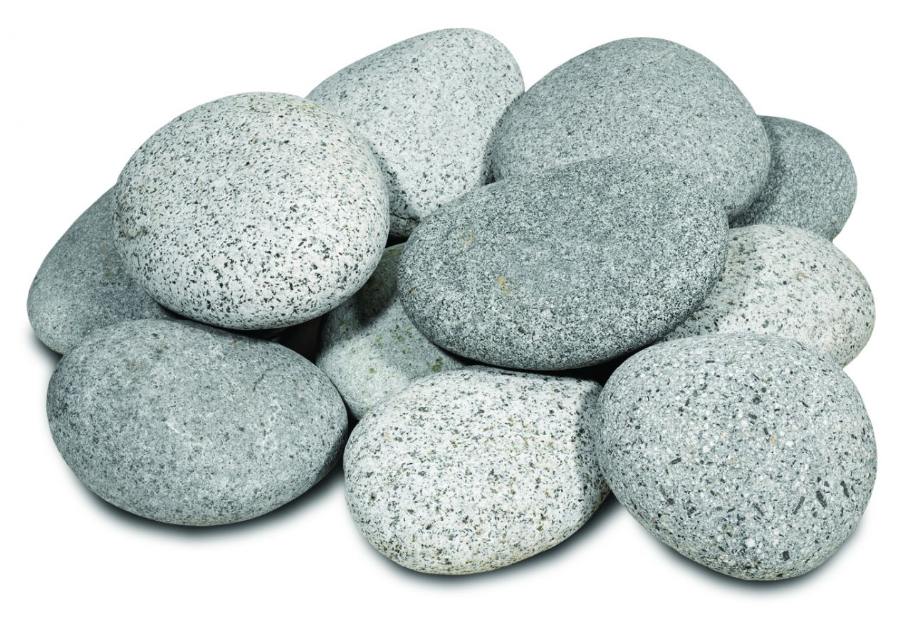 Beach pebbles 3-6 cm