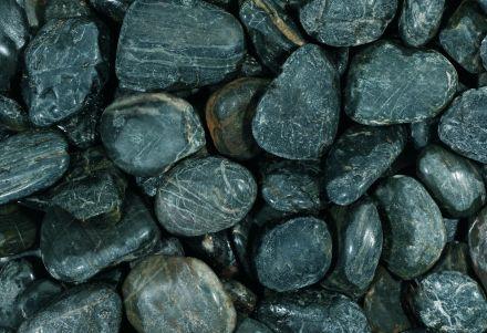 Glitter stone black 10-30 mm
