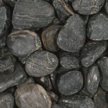 Glitter stone black 50-80 mm