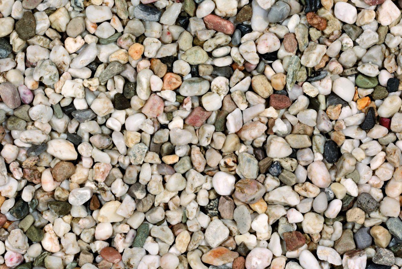 Kwartskiezel (duits) wit 4-8 mm