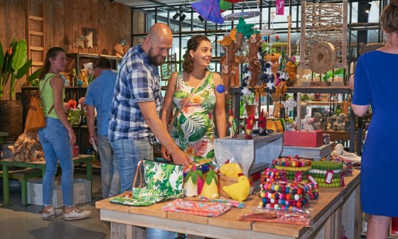 Opening cadeauwinkel en plantenmarkt