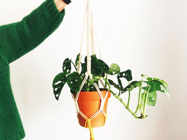 Workshop: Macramé plantenhanger maken