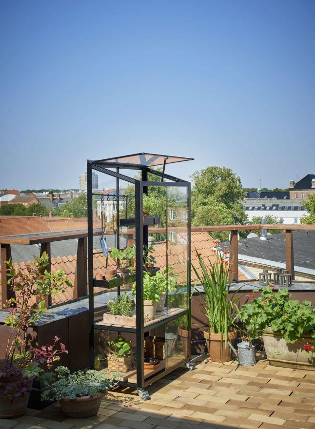 Muurkas City Garden zwart (RW2731)