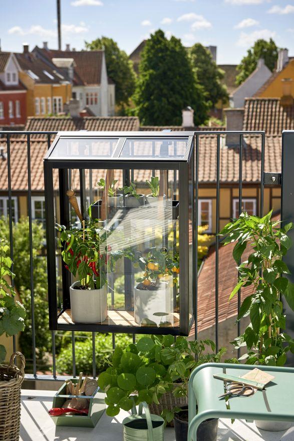 Balkonkas Balcony Garden zwart (RW2771)