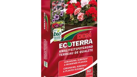 DCM Ecoterra® Geraniums & Bloeiende Planten (potgrond)