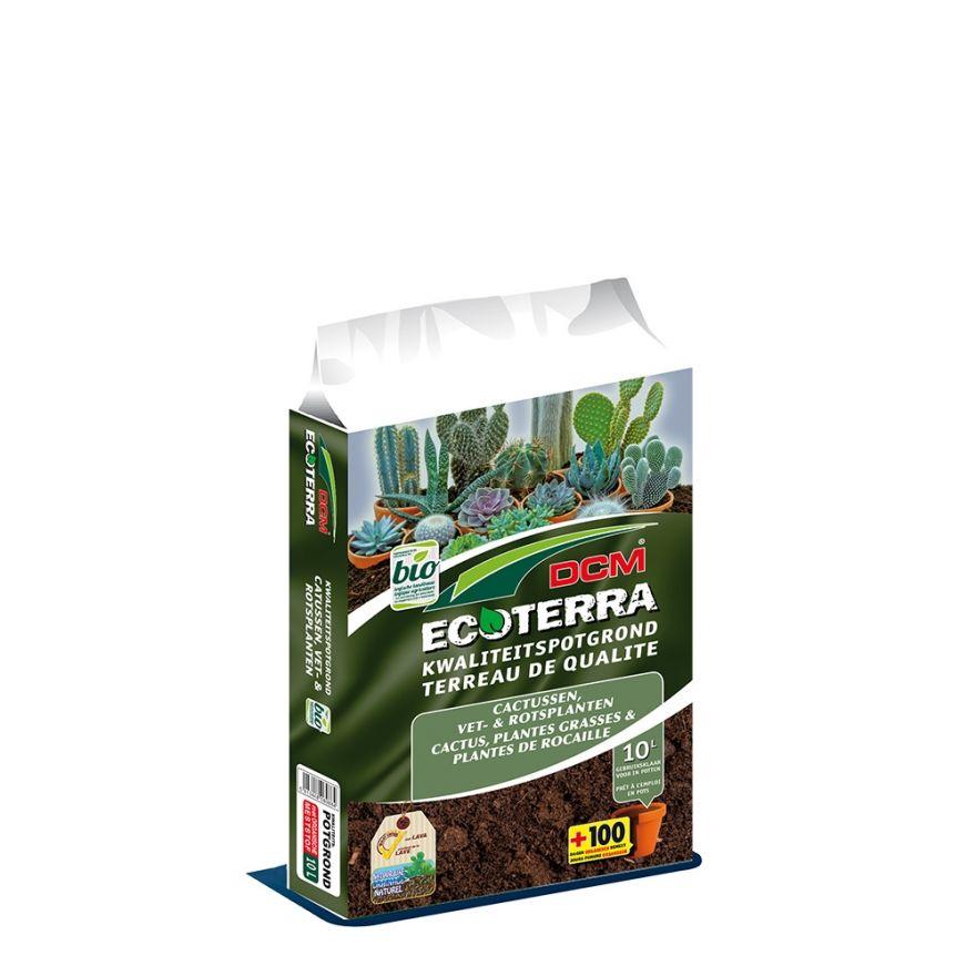 DCM Ecoterra Cactus, Vet- & Rotsplanten (10 ltr)