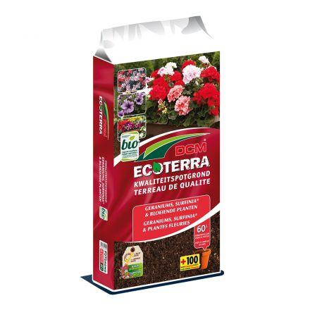 DCM Ecoterra Geraniums & Bloeiende Planten (30 ltr)
