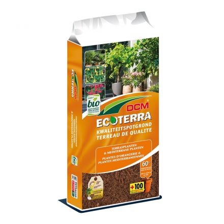 DCM Ecoterra Terrasplanten & Mediterrane Planten (60 ltr)
