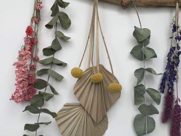 Workshop: Creatie van droogbloemen!