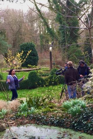 """""""Binnenste Buiten"""" bezocht 'de levende tuin' van Nic en Paula Smeets."""""""