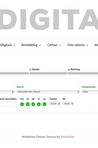 Smeets TuinDigitaal, Online uw dienst plannen!