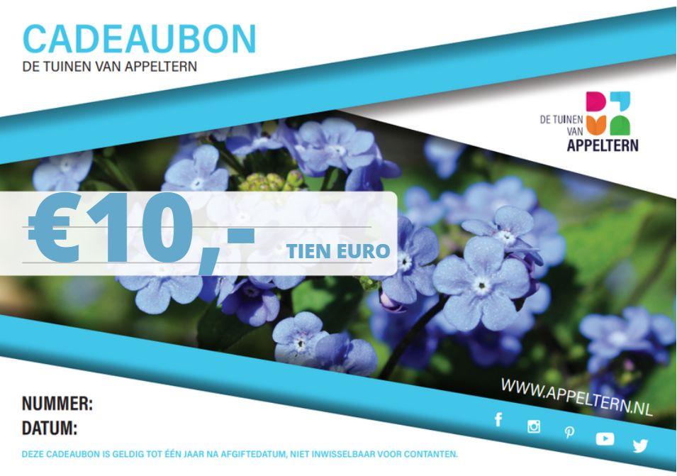 Cadeaubon - Tien euro