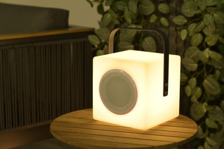 Blocko verlichting H20cm (anthracite handle/ BT speaker)